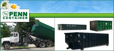 Penn Container Chester Counties Pa Dumpster Rental