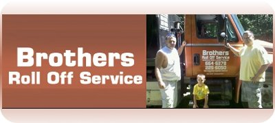 Brothers Roll Off Service – Garbage containers, mini-bin, roll off bin rentals.