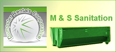 M & S Sanitation – Disposal bins, minibins & garbage dumpsters rental